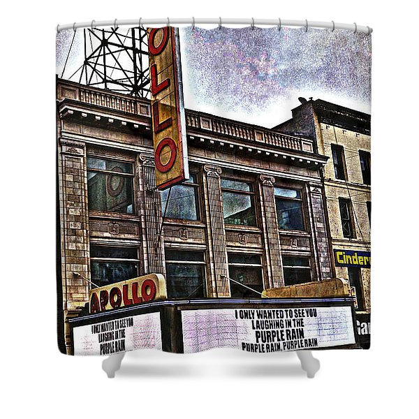 Apollo Theatre, Harlem Shower Curtain