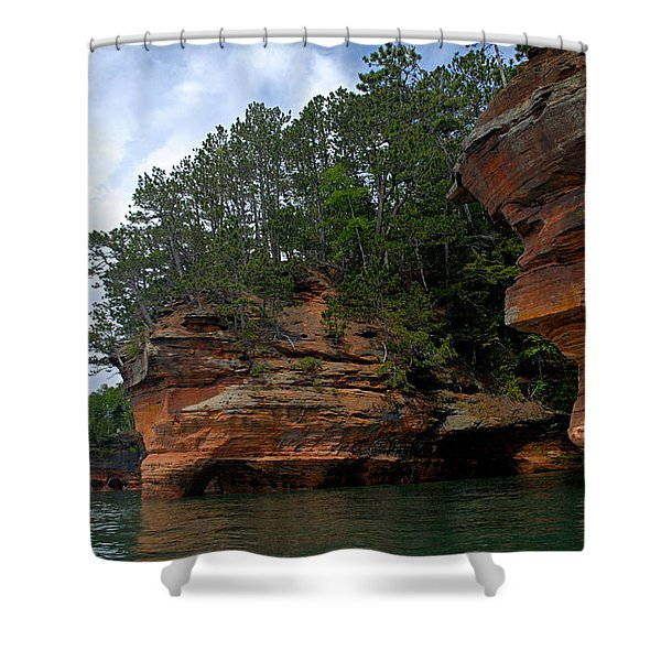 Apostle Islands National Lakeshore Shower Curtain
