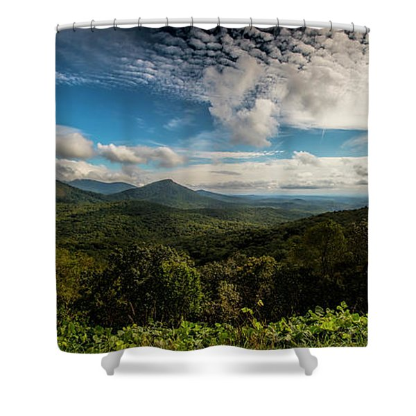 Appalachian Foothills Shower Curtain