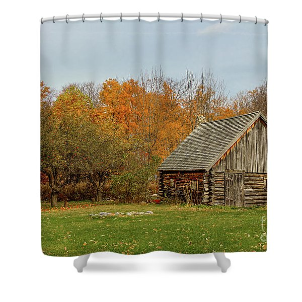 Apple Season At The Woods Shower Curtain