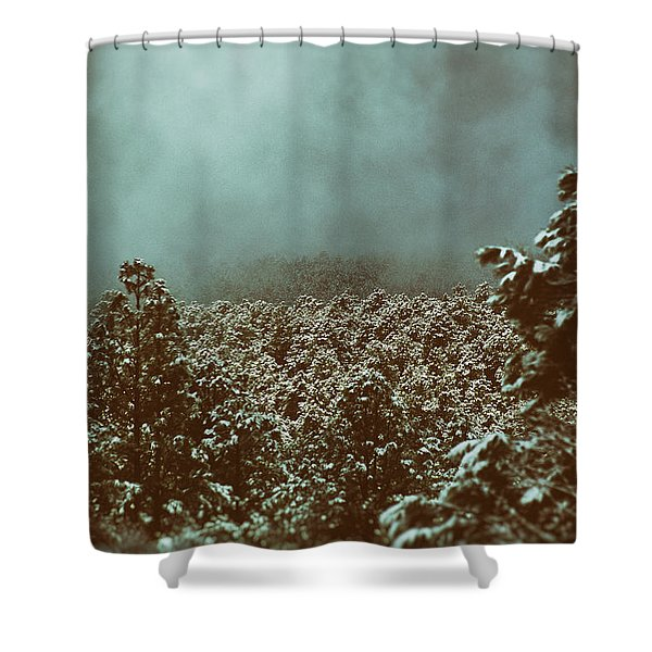 Shower Curtain featuring the photograph Approaching Storm by Jason Coward