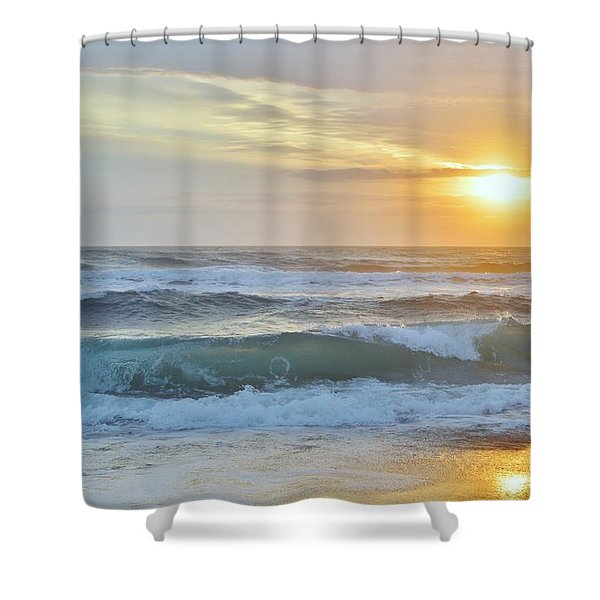 April Sunrise  Shower Curtain