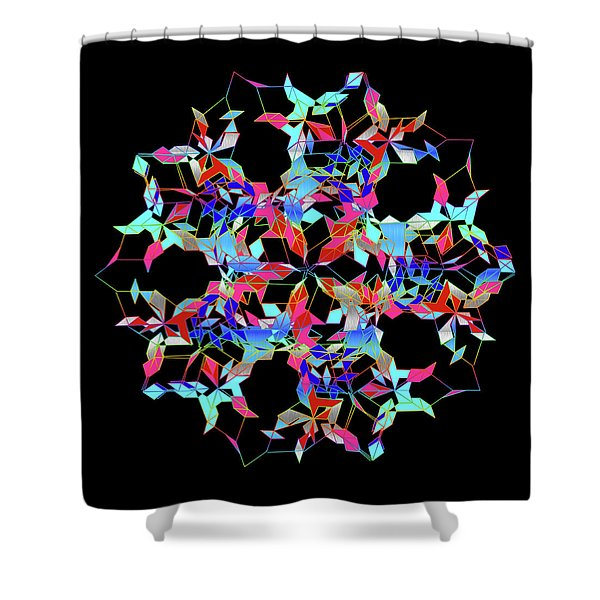 Aqua Extreme Mandala Shower Curtain