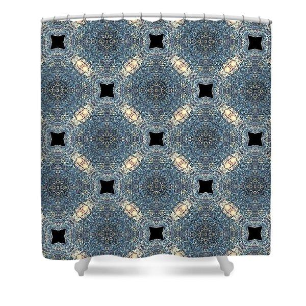 Aquatic Drift Shower Curtain