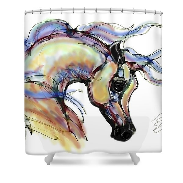 Arabian Mare Shower Curtain