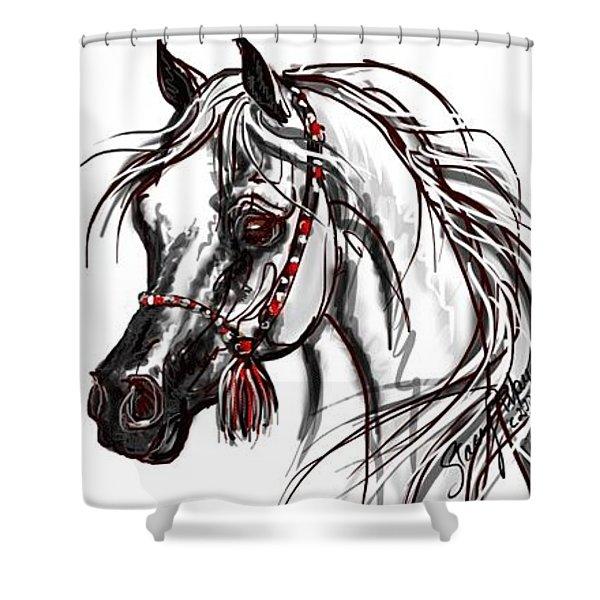 My Arabian Horse Shower Curtain