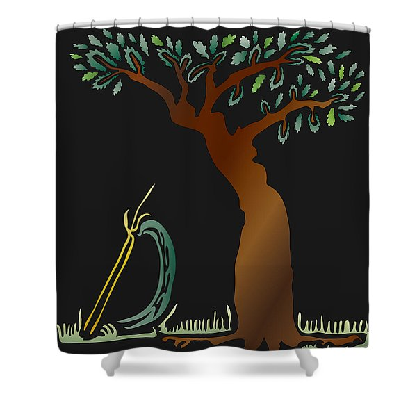 Arbor Scene Shower Curtain