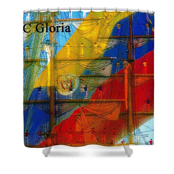 Arc Gloria Shower Curtain