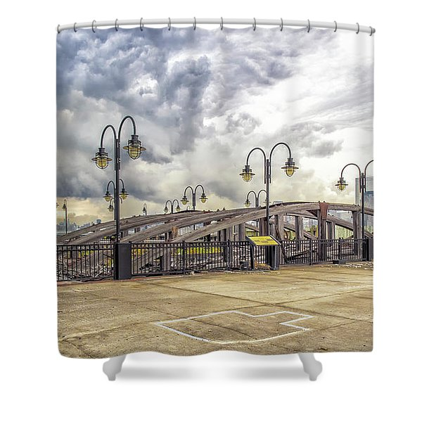 Arc To Freedom One Tower Image Art Shower Curtain
