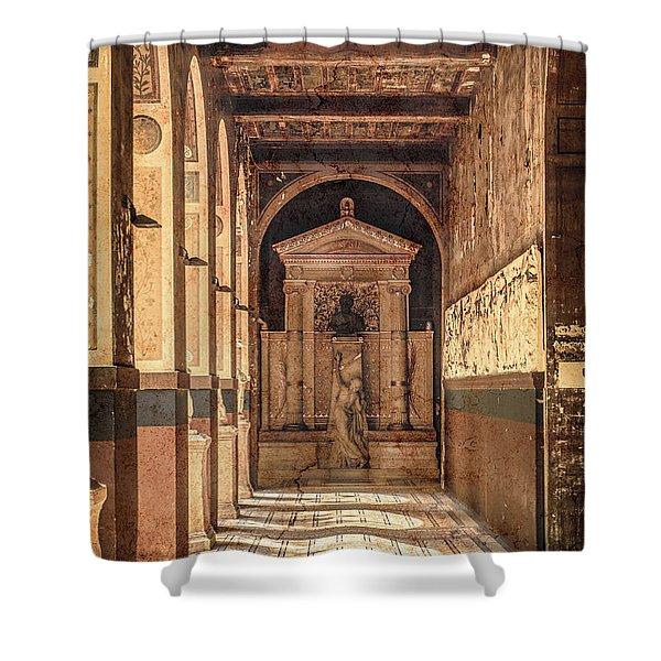 Paris, France - Arcade - L'ecole Des Beaux-arts  Shower Curtain