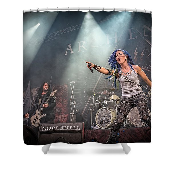 Arch Enemy Shower Curtain
