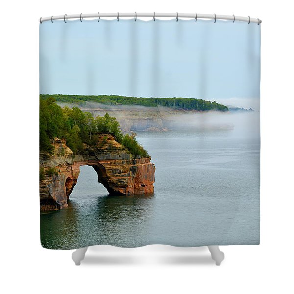 Arch Over Superior Shower Curtain