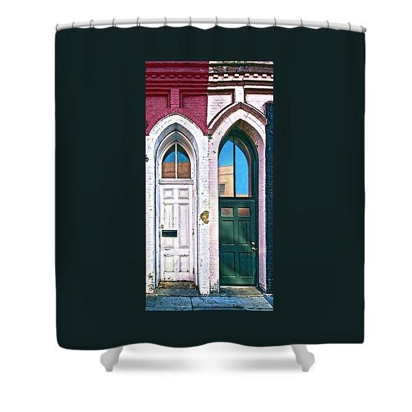 050 - Door One And Door Too Shower Curtain