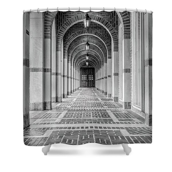 Arched Walkway Shower Curtain