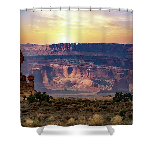Arches National Park Canyon Shower Curtain