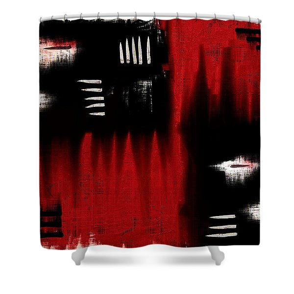 Architectonic Dimension Shower Curtain