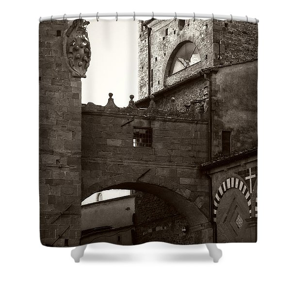 Architecture Of Pistoia Shower Curtain