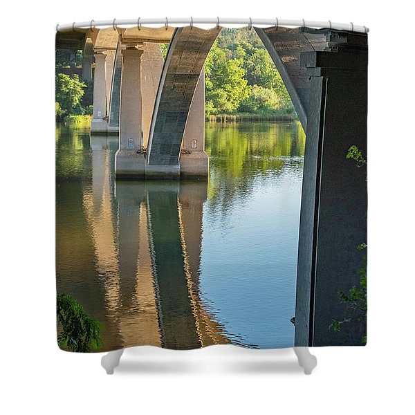 Archway Reflection Shower Curtain