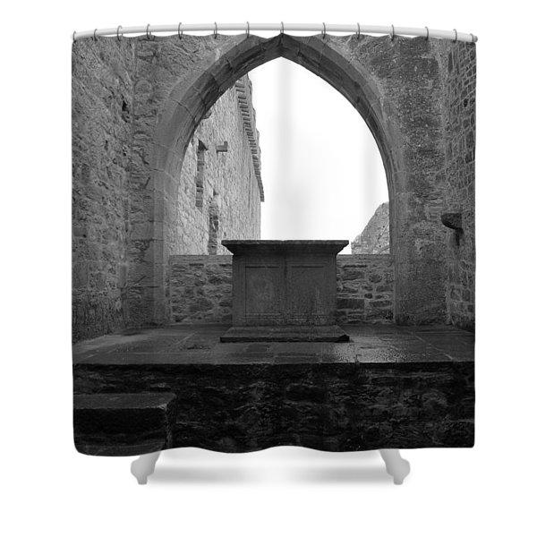 Ardfert Cathedral Shower Curtain