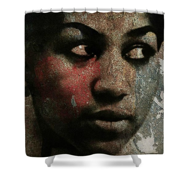 Aretha Franklin - Tribute Shower Curtain