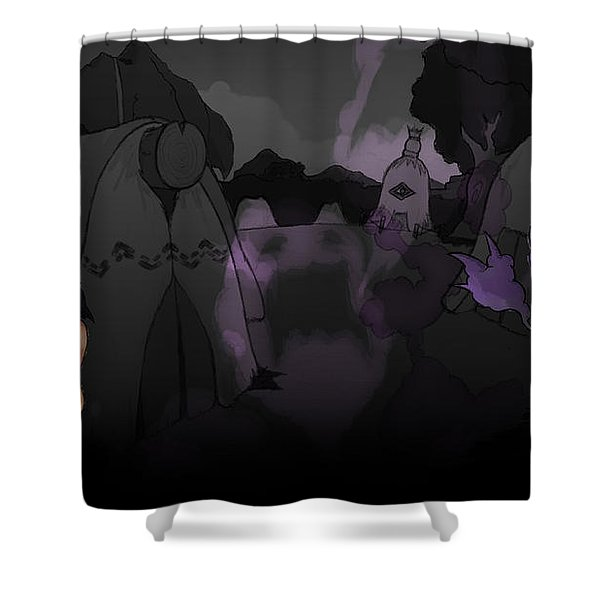 Aritana And The Harpy's Feather Shower Curtain