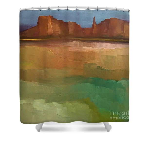 Arizona Calm Shower Curtain