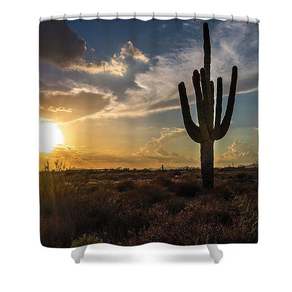 Arizona Vibes Shower Curtain