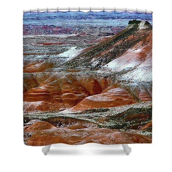 Arizona's Painted Desert Shower Curtain