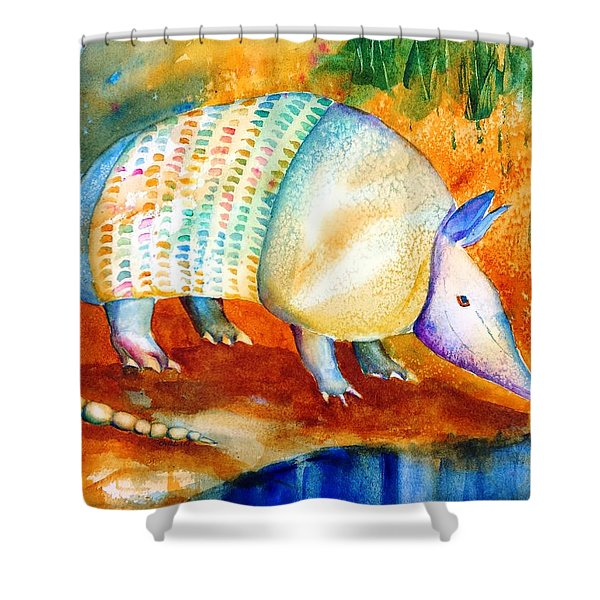 Armadillo Reflections Shower Curtain