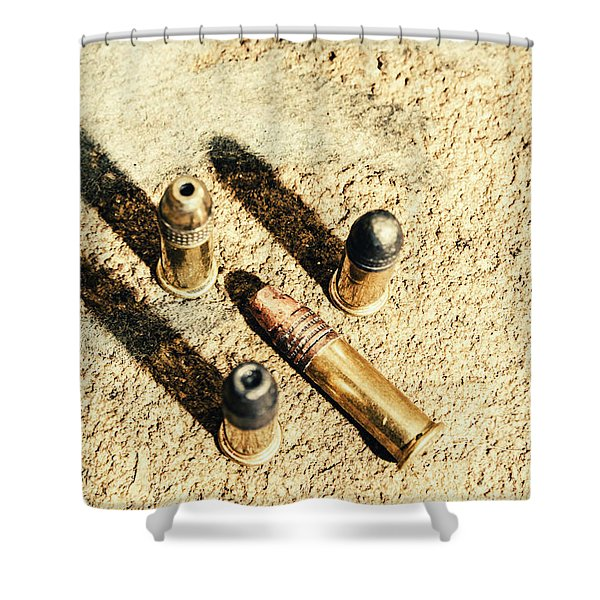 Arms Of Ammunition Shower Curtain