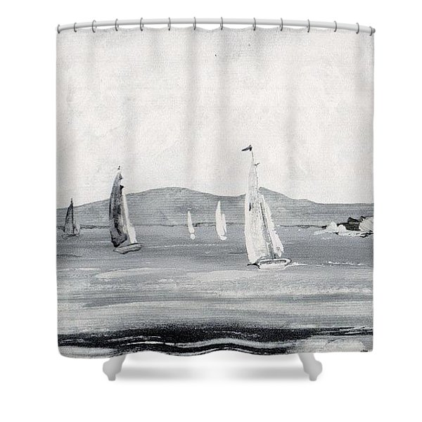 Around The Cape Shower Curtain