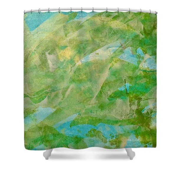 Around The World Shower Curtain
