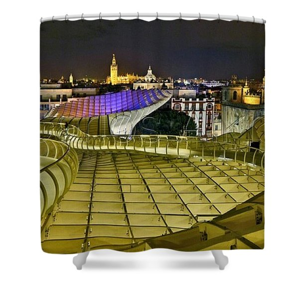 Arriba Las Setas De #sevilla Shower Curtain