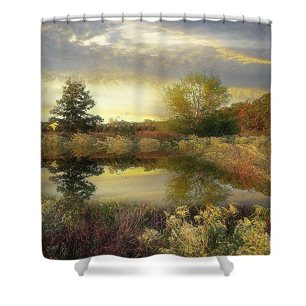 Arrival Of Dawn Shower Curtain