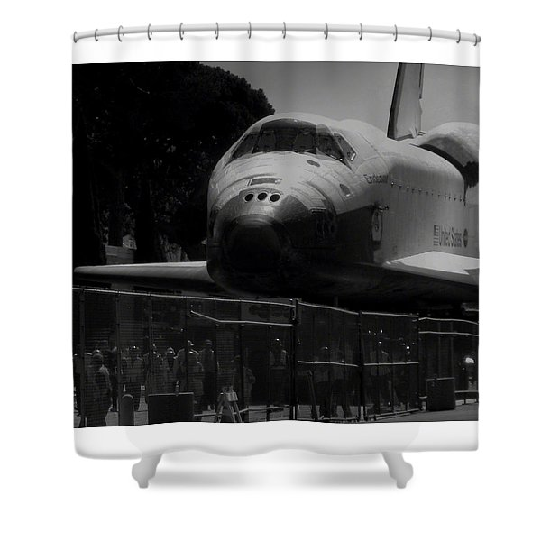 Arriving Home Shower Curtain