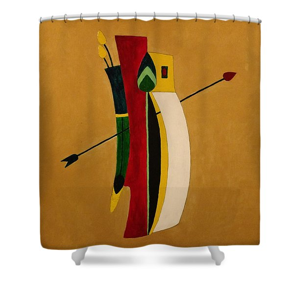 Arrow's Advantage Shower Curtain