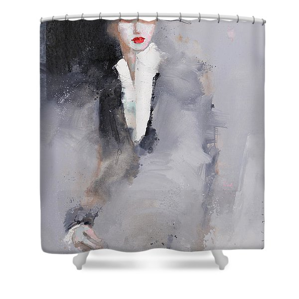 Photographed Shower Curtain