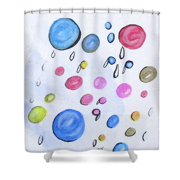 Art Doodle No. 2 Shower Curtain