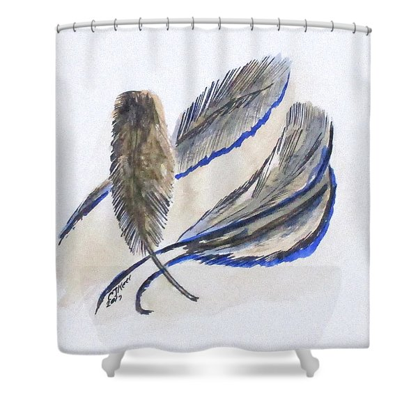Art Doodle No. 21 Shower Curtain