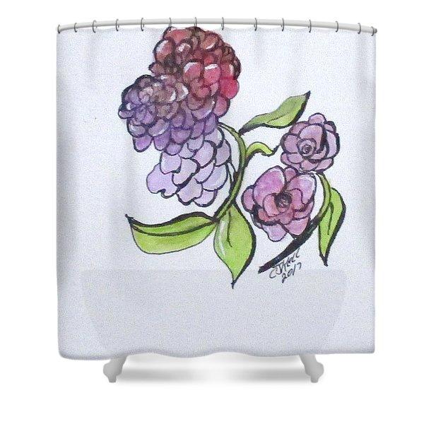 Art Doodle No. 4 Shower Curtain