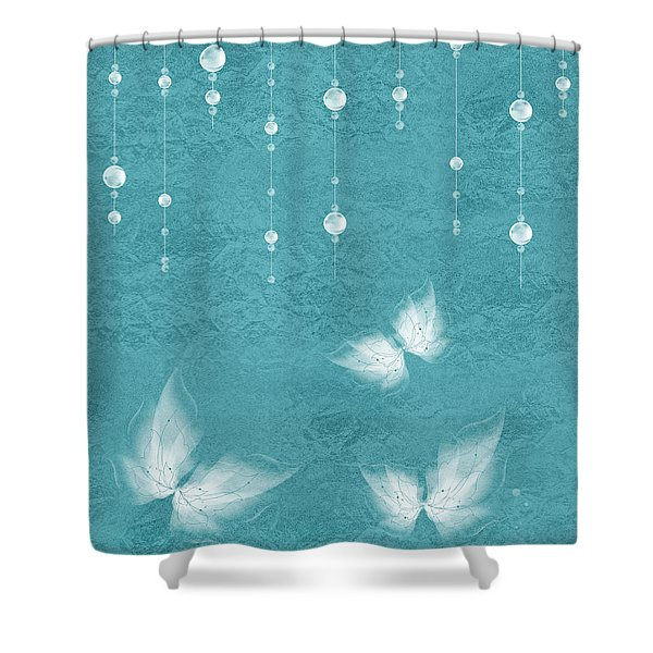 Art En Blanc - S11bt01 Shower Curtain