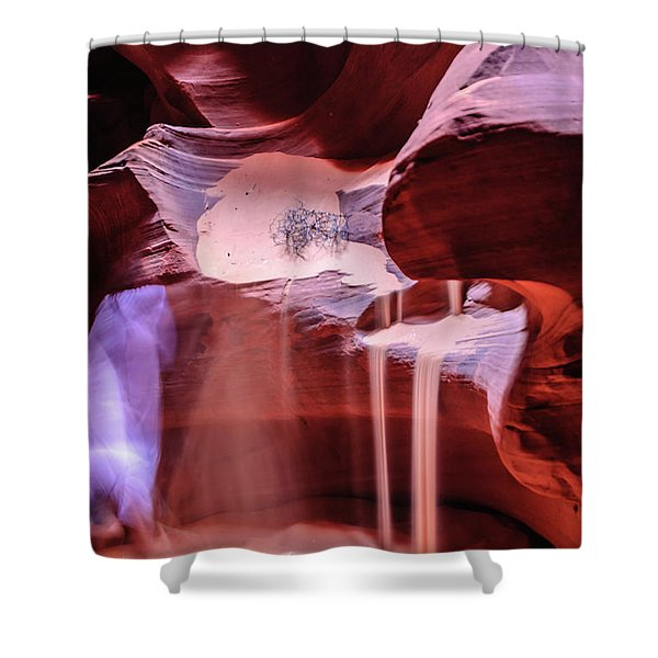 Art From Antelope Canyon Shower Curtain