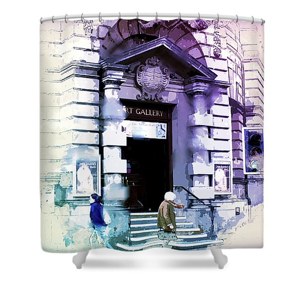 Art Gallery Shower Curtain