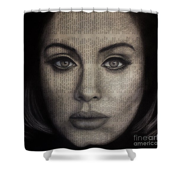 Art In The News 72-adele 25 Shower Curtain