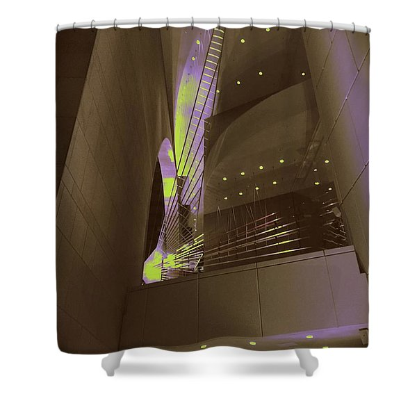 Art-itecture Shower Curtain