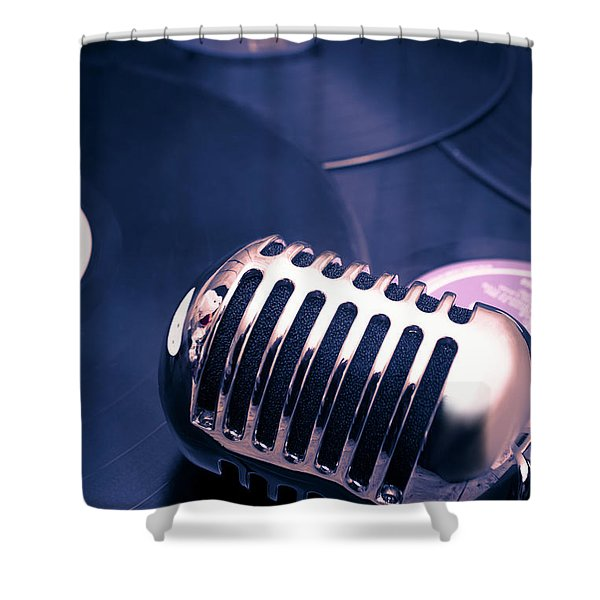 Art Of Classic Communication Shower Curtain
