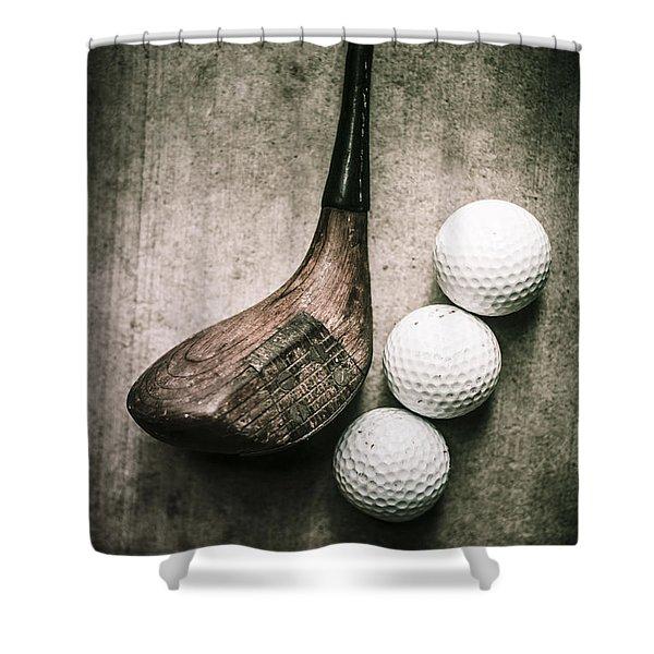 Art Of Golfing Shower Curtain