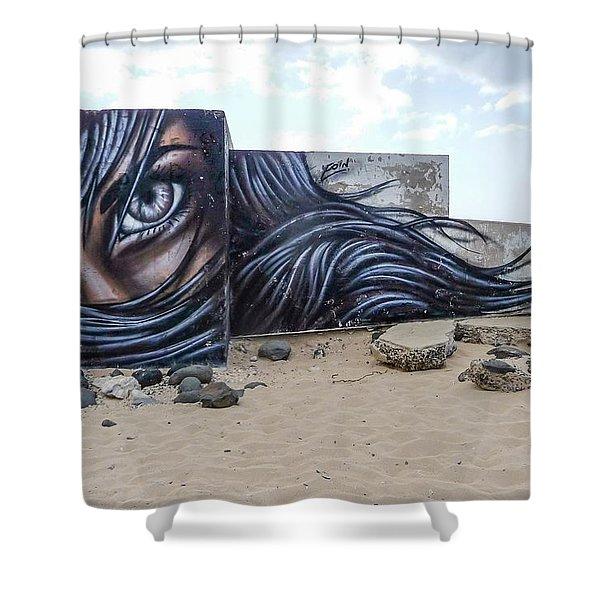 Art Or Graffiti Shower Curtain