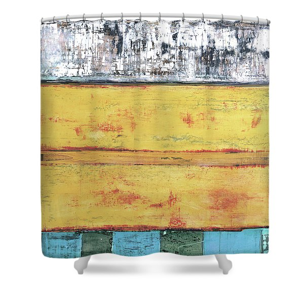 Art Print Abstract 34 Shower Curtain