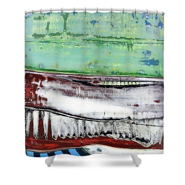 Art Print Abstract 97 Shower Curtain